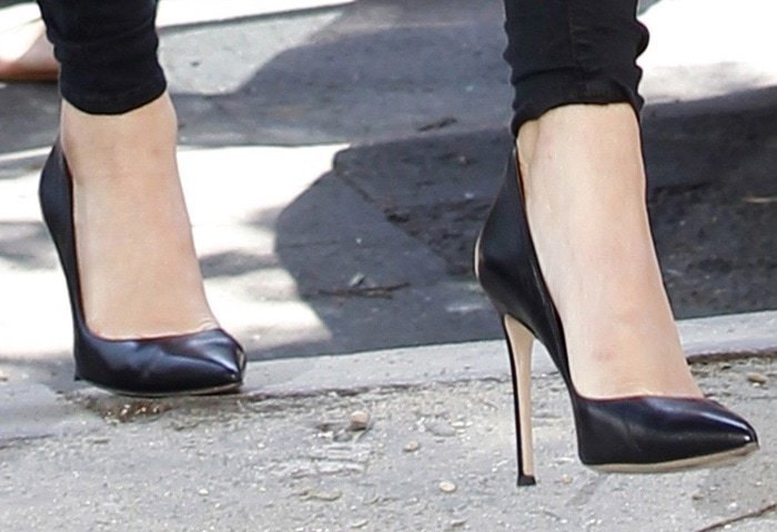 Kendall Jenner's Gianvito Rossi shoes