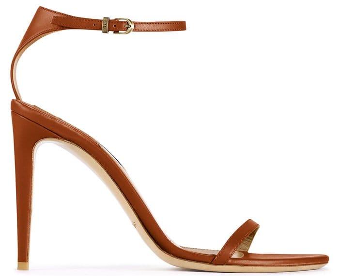 """Ralph Lauren """"Blasia"""" Sandals in Honey"""