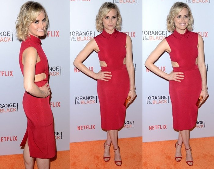 """Taylor Schilling attends the """"Orangecon"""" Fan Event at Skylight Clarkson SQ. on June 11, 2015, in New York City"""