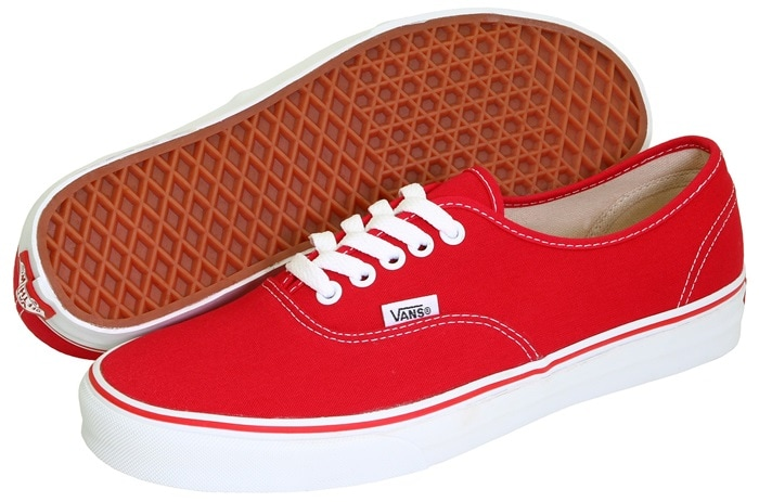 Vans Core Classics in Red