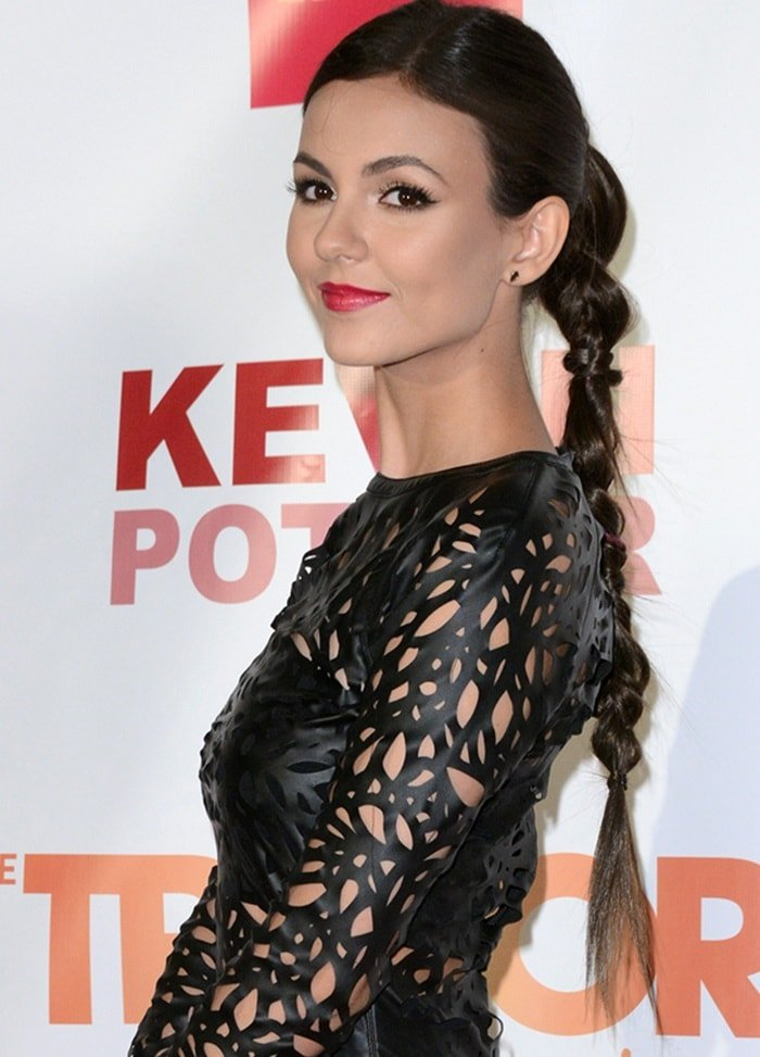 Victoria Justice at the Trevor Project annual TrevorLIVE event in New York City, NY on June 15, 2015