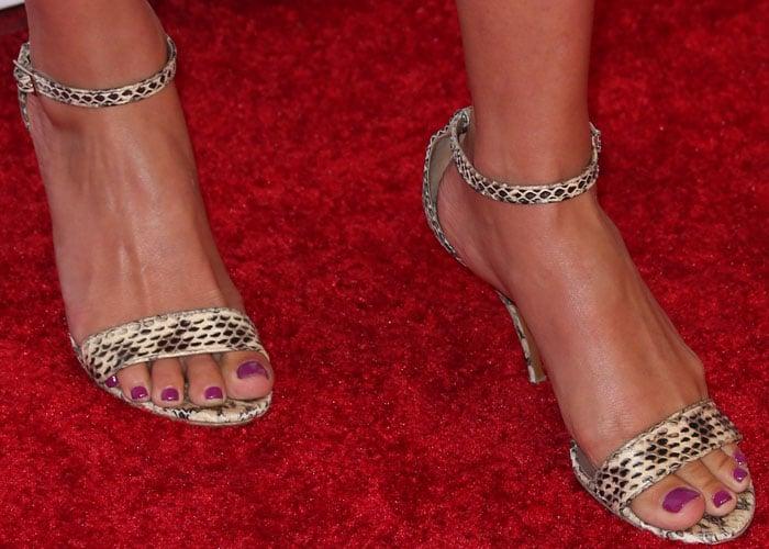 Ali Larter Buick Snake Sandals 3