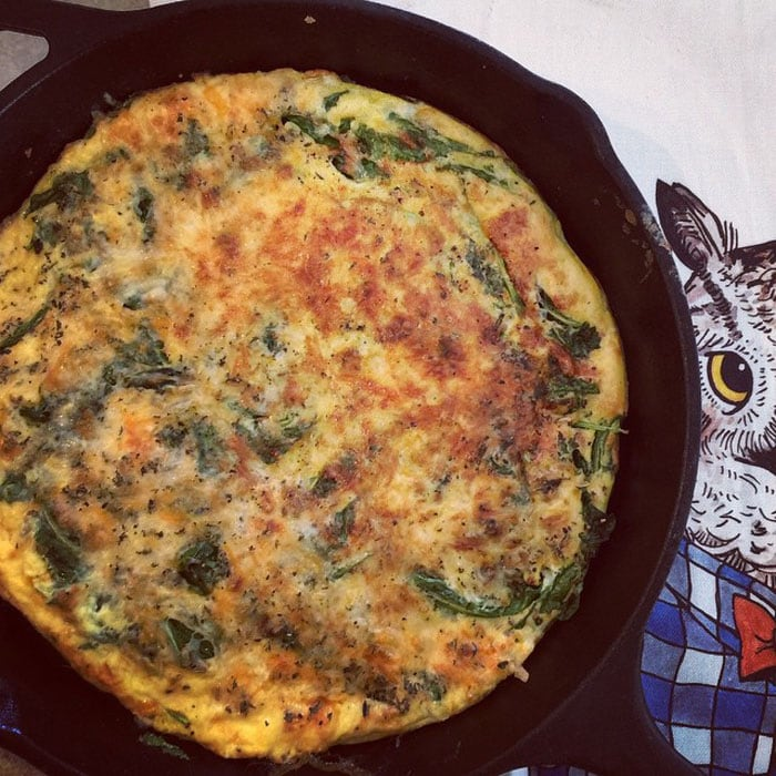 Ali Larter regularly uploads photos of her kitchen revelry on her personal website