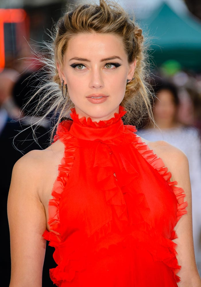 Amber Heard made clear she does not want to deny her sexuality