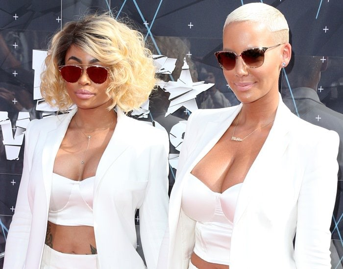 Amber Rose and Blac Chyna celebrated the recent United States Supreme Court decision that allowed gay couples to marry in all 50 states