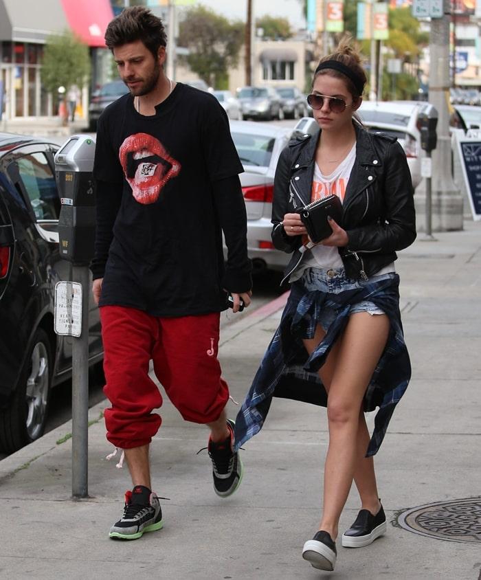 'Spring Breakers' actress Ashley Benson and her boyfriend Ryan Good