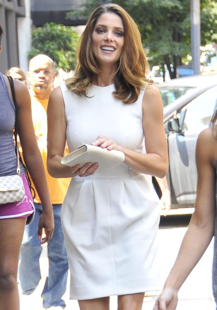 Ashley Greene's L'AGENCE Alexandra sleeveless dress