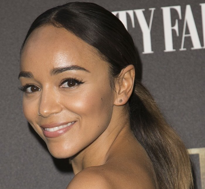 Ashley Madekwe's father is Nigerian-Swiss while her mother is British