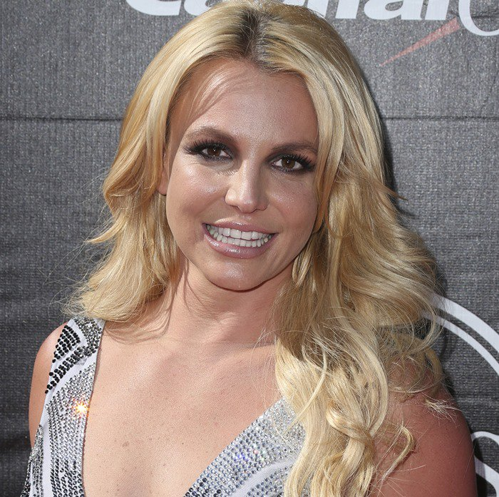 Britney Spears on the red carpet at the 2015 ESPY Awards at the Microsoft Theater in Los Angeles on July 15, 2015