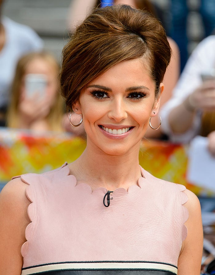 Cheryl Cole's '60s bouffant hairstyle