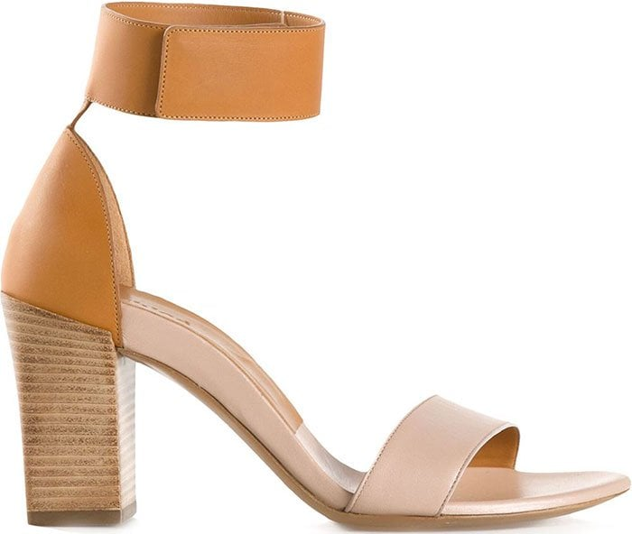 Chloe Gala Ankle Strap Sandals