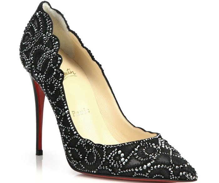 Christian Louboutin Top Vague Pumps in Black