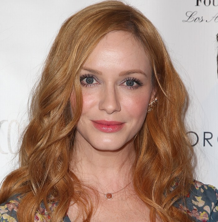 Los Angeles Confidential magazine and cover star Christina Hendricks celebrate the magazine's Women Of Influence issue