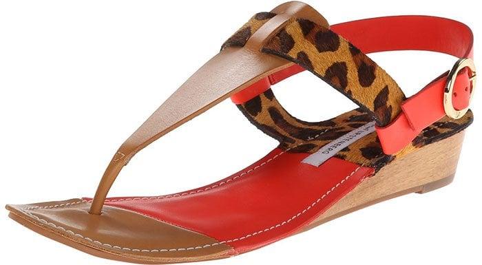 """Diane von Fürstenberg """"Darling"""" Sandals"""