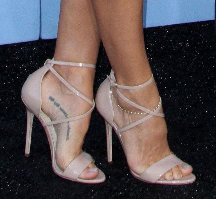 Elsa-Pataky-Brian-Atwood-Tamara-Sandals-Nude-Patent