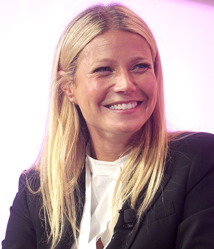 Gwyneth Paltrow talking about her business, Goop, her divorce from Chris Martin, and parenting at SheKnows Media's #BlogHer15 conference for female bloggers