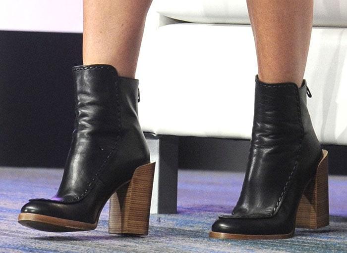 Gwyneth Paltrow in 3.1 Phillip Lim's Jasper ankle boots