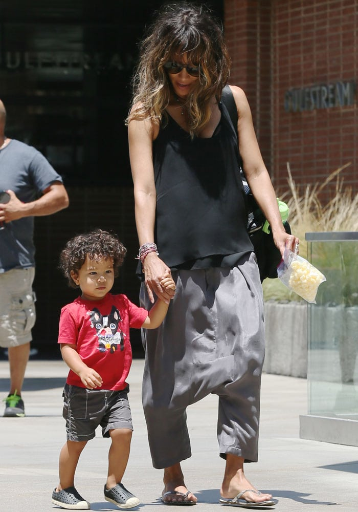 Halle Berry's son Maceo Robert Martinez was born on October 5, 2013, in Los Angeles California