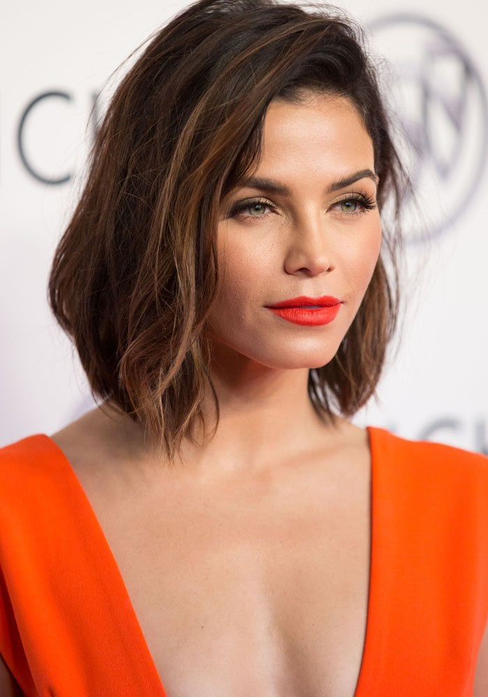 Jenna Dewan Tatum Can T Get Enough Of Her Short Bob At Buick Event