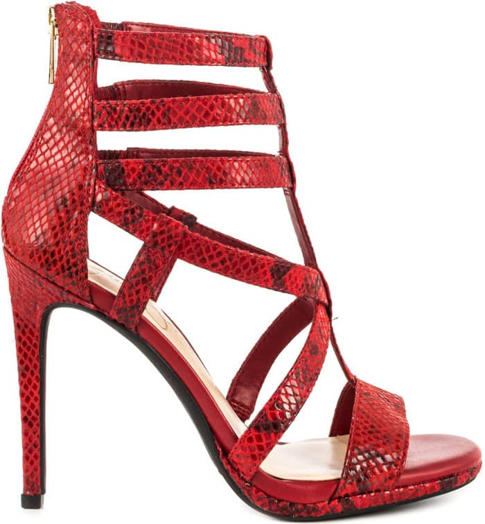Jessica Simpson Marthena Sandals in Lipstick Trop