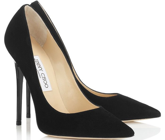Jimmy-Choo-Anouk-Black-Suede-Pointy-Toe-Pumps
