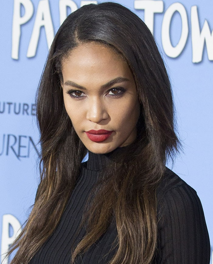 Joan-Smalls-New-York-premiere-of-Paper-Towns