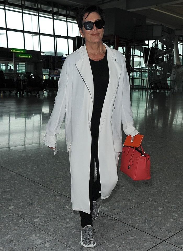 Kris-Jenner-leaves-London-in-Yeezy-Boost-350