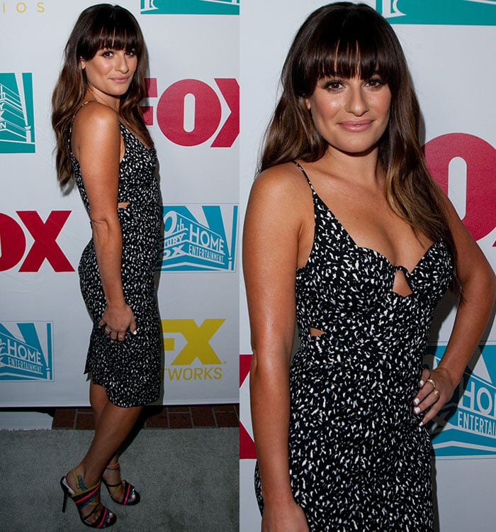 Lea Michele at the 20th Century Fox party at San Diego Comic-Con