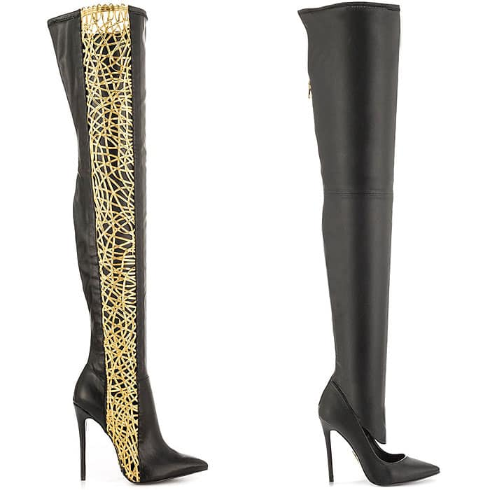 "Lust for Life ""Racy"" Thigh-High Boots and Lust for Life ""Krash"" Thigh-High Boots"