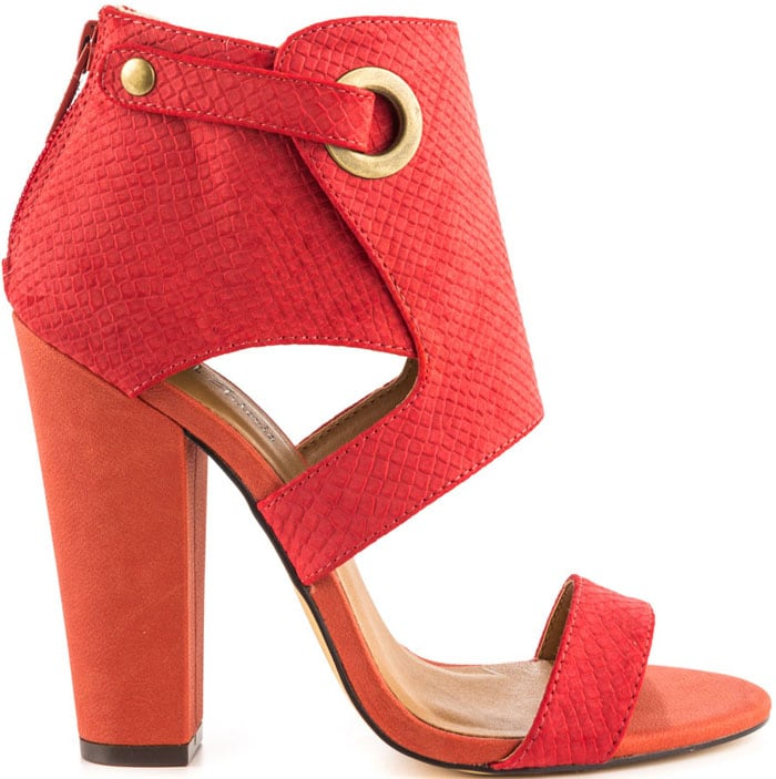 Michael Antonio Jace Sandals in Coral Snake PU