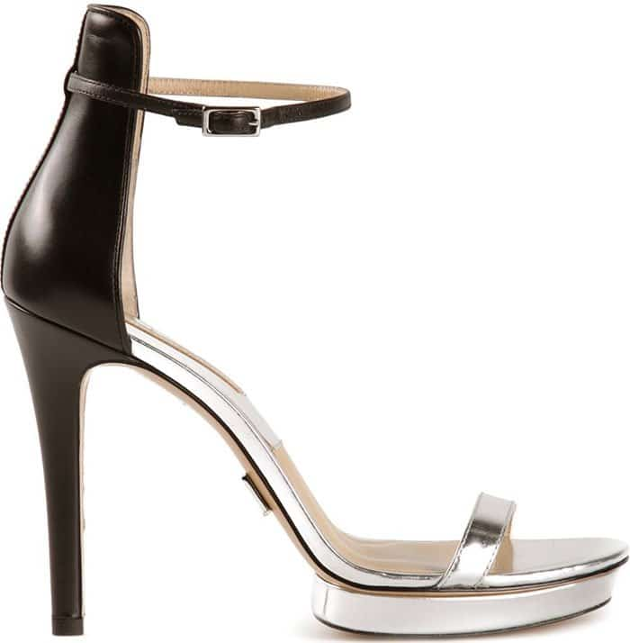 Michael Kors Doris Metallic Platform Sandals