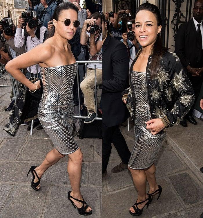 Michelle-Rodriguez-Jean-Paul-Gaultier-Paris-Fashion-Week-1