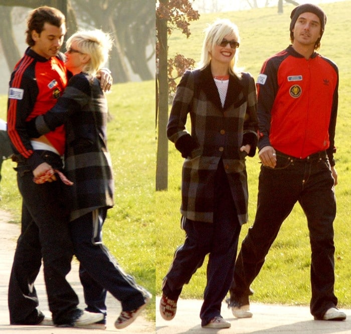 Flashback: Newlyweds Gavin Rossdale and Gwen Stefani head out for lunch and a stroll with their dog in North London on March 19, 2003