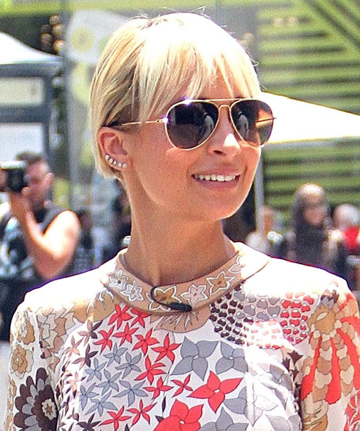 Nicole-Richie-filming-Candidly-Nicole-The-Grove