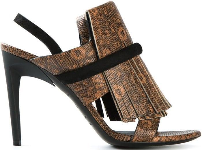 Proenza Schouler Fringed Sandals