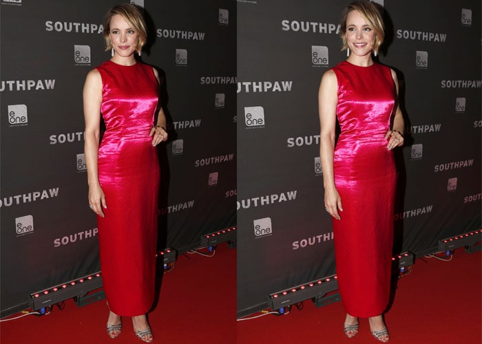 Rachel McAdams looked like a hostess at a Chinese restaurant