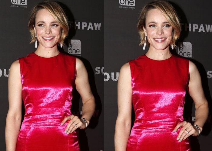 Rachel McAdams wore a cheap-looking Dior dress