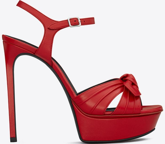 Saint Laurent Bianca Red