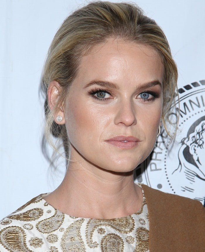 """Alice Eve attends a screening of """"Dirty Weekend"""" presented by The Friars Club"""