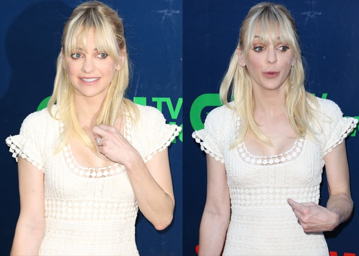 Anna Faris at the Showtime 2015 Summer TCA Party