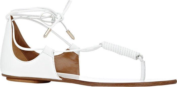 Aquazzura California Flat Thong Sandals