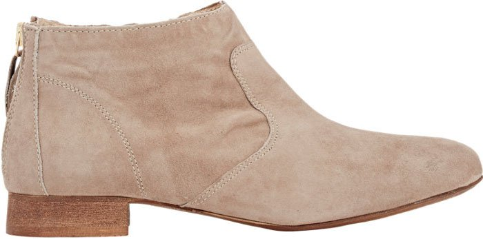 Barneys New York Back Zip Ankle Boots