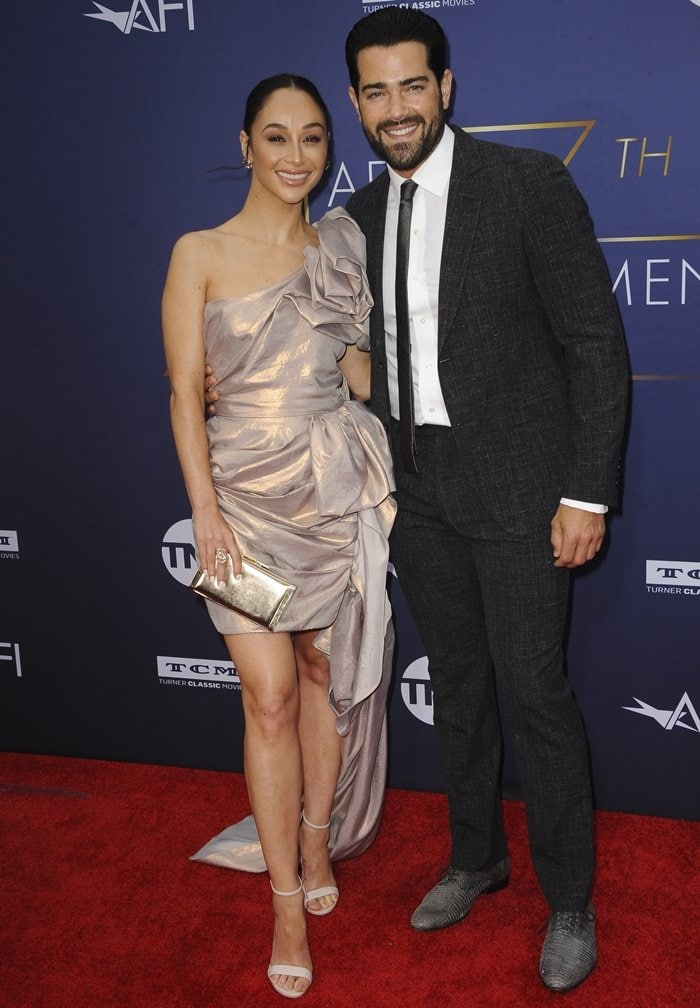 Cara Santana and Jesse Metcalfe attend the 47th AFI Life Achievement Award honoring Denzel Washington