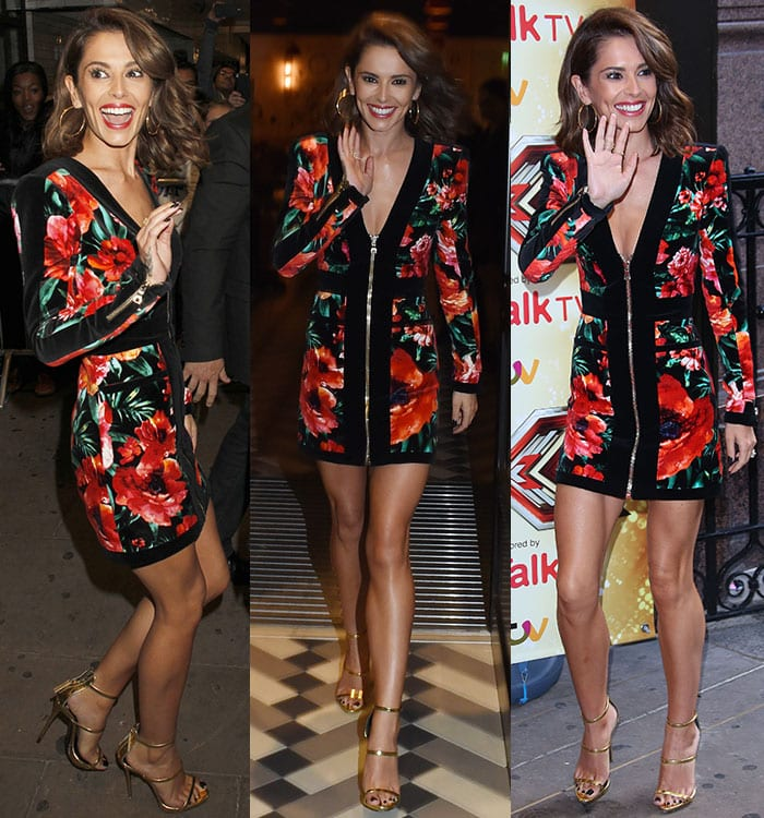 "Cheryl Fernandez-Versini at ""The X Factor"" press launch held at the Picturehouse in London, England, on August 26, 2015"