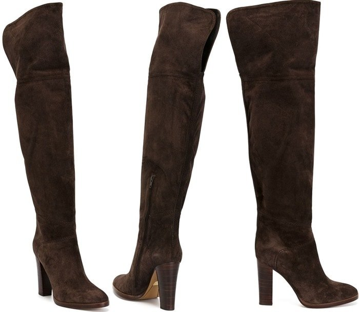 Chloe 'Grace' over the knee length boots