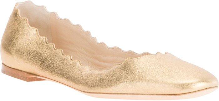 Chloe Lauren Ballet Flats