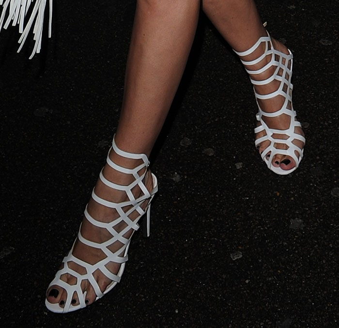 Chloe-Sims-Schutz-Juliana-Cage-Sandals-White