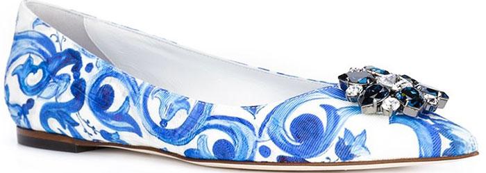 Dolce & Gabbana Vally Flats