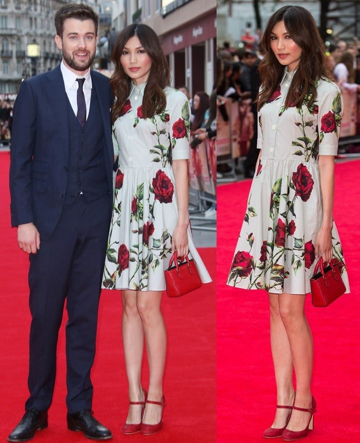 Gemma Chan and Jack Whitehall broke up in 2017 after six years together