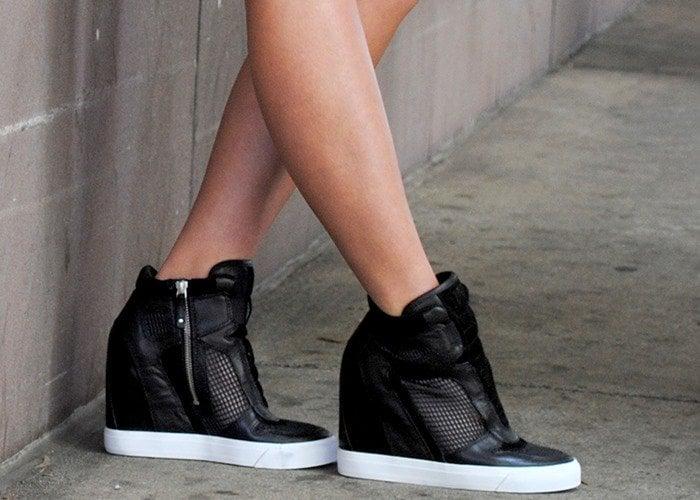 "Donna Karan DKNY ""Grand"" Wedge Sneakers"